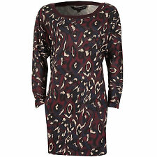 French Connection Printed Batwing Dress In Purple From Get The Label