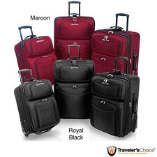 Traveler's Choice 'El Dorado' 3-piece Ballistic Nylon Luggage Set