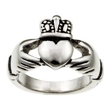Stainless Steel Claddagh Ring