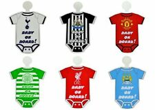 Official Football Kit Baby on Board Sign  - Range Of Teams - Car Accessory