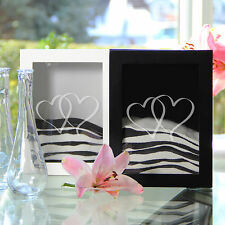 Two Hearts Sand Ceremony Shadow Box Set