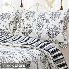 French Medallion 3-piece Quilt Set and Optional Sham Separates
