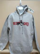 "Men's ""If It Ain't Red, It Stays In The Shed"" Gray Hoodie/sweatshirt- D12470"