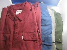 NWT  LEVI'S Levis 2 pocket l/s Henley pullover mens shirt MANY SIZES/COLORS