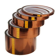 5/10/20/30/50/200mm 100ft Temperatura High Heat Resistant Polyimide Kapton Tape