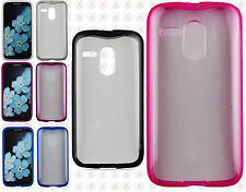 For Motorola Moto G TPU Gel GUMMY Hard Skin Case Phone Cover Accessory