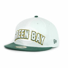 Green Bay Packers NFL Player Draft New Era 5950 Hat Cap White Fashion Fitted GB