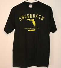 "Underoath ""Florida, Where America Goes to Die"" T Shirt, NEW"