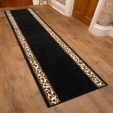 Leopard Border Hallway Carpet Runner Rug Mat For Hall Extra Very Long Cheap New