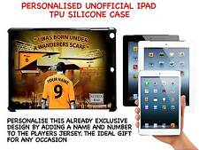 PERSONALISED UNOFFICIAL WOLVERHAMPTON WANDERERS HARD TPU SILICONE CASE