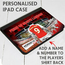 PERSONALISED UNOFFICIAL ARSENAL IPAD PU LEATHER CASE