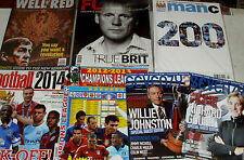 Football magazine BACK ISSUES Well Red, FL Footlball Life, Man C, Seventy 2 &