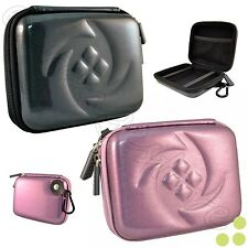 Kozmicc Hard Shell Case Cover Carrying Bag w/Carabiner for Canon Digital Cameras