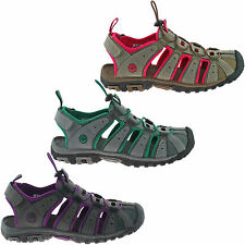 LADIES HI-TEC SPORTS WALKING SANDALS SIZE UK 4 - 8 WOMENS TRAIL ADVENTURE SHORE