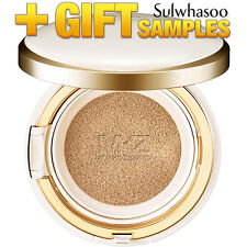 Sulwhasoo Evenfair Perfecting Cushion Foundation Whitening Amore Pacific + Gift
