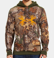 Under Armour Charged Cotton STORM Camo Antler Hoodie (Realtree Xtra) 1241576-946