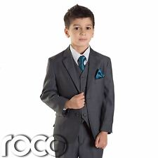 Boys Grey Suit, Boys Grey Wedding Suit, Page Boy Suits, Boys Prom Suits