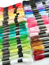 Choose the Colour ~ 2 x Embroidery Skeins Stranded Cotton ~ Hand Sewing Thread