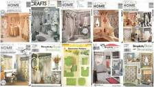 OOP Bathroom Essentials Sewing Pattern McCall's Simplicity Tub Shower Curtains +