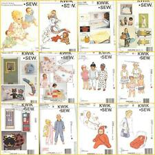 Kwik Sew Sewing Pattern Cute Toddler Infant Clothes Toys  Accessories You Choose