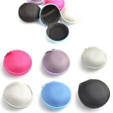 Good Quality  Earphone Headphone Earbud Carrying Storage Bag Pouch Hard Case