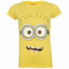 Character Womens Ladies Clothing Short Sleeve Top Tee T Shirt Despicable Me