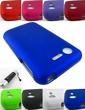 FOR LG OPTIMUS DYNAMIC 2/FUEL/ZONE 2 HARD SNAP-ON CASE COVER ACCESSORY+STYLUS