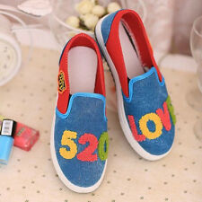 fashion personality leisure Flat shoes Korean version students Canvas shoes