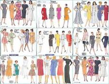 OOP Vogue Sewing Pattern Misses Basic Design Dress Your Choice