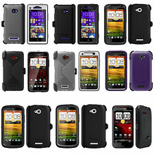 New Otterbox Defender Case For HTC One VX / Windows Phone 8X-Droid DNA & Rezound