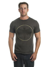 Batman DC Comics Vintage Style Circle Logo Superhero Adult T-Shirt Tee