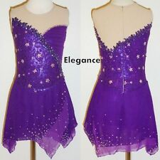 Ice dance Figure skating Dress/Baton Twirling/Tap/Lyrical costume Made to Fit