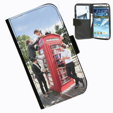 One Direction 1D Protective Leather wallet phone case for Samsung Galaxy Note 3