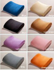 Memory Foam Lumbar Back Support Cushion Pillow for Office Home Chair Car Seat