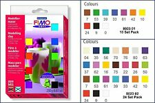 Staedtler Fimo Soft Assorted Colour Material Pack Oven Hardening Modelling Clay