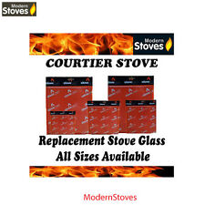 Courtier Replacement Stove Glass - Heat Resistant