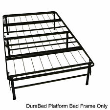 DuraBed Twin-size Heavy Duty Steel Foundation & Frame-in-One Mattress Support Sy