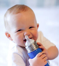 Pura Kiki Stainless Steel Infant & Toddler Bottle with Nipple or Sippy Spout