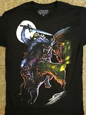 He Man Masters Of The Universe Skeletor Fighting Battle Cat T-Shirt