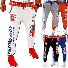 ZAHIDA Joggers America England USA UK Trackies Fitness Fight Trousers Boxing New