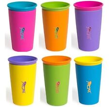 Wow Cup Kids Spill Free Drinking Cup w Freshness Lid AUTHENTIC AS SEEN ON TV NEW