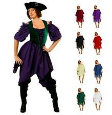 RENAISSANCE COSTUME DRESS-UP MEDIEVAL PIRATE PEASANT WENCH HANDKERCHIEF CHEMISE