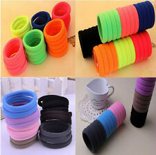 Hot Sale Gilrs High Elastic Rope Ring Hairband High Quality Ponytail Hair Band