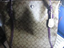 NWT NEW Coach F24601 Peyton Signature Convertible Shoulder Bag Purse Handbag