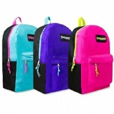 Girls Trailmaker Color Block 17'' Backpack New With Tags