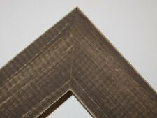 """1.5"""" Country Whiskey Brown Rustic Distress Weathered Picture Frame-Panoramic"""