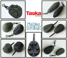 Taska Carp Coarse Fishing Inline Swivel Coated Leads x 5 *All Types & Sizes*