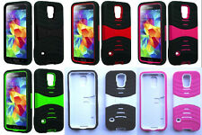 2 x PRO ARMOR U-Case Faceplate Phone COVER OF YOUR CHOICE For Samsung Galaxy S5