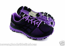 Asics Gel-Instinct33 trail running shoes for women - Black / Onyx / Neon Purple