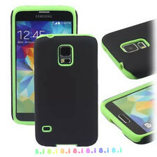 New Heavy Duty Rubber Hard Case Cover For Samsung Galaxy S5 i9600